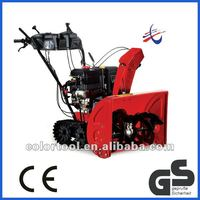 Cheap 13HP snow blower with Loncin engine,track walk and 71cm working width