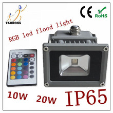 Colorful RGB LED stadium flood lights 10W-100W