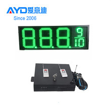 Digital Gas Station LED Price Sign, 7 Segment LED Display
