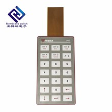 Metal dome autoflex ebg180 push button membrane keypad switch with touch screen panel