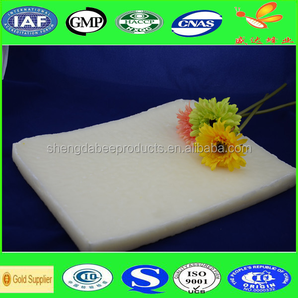 Bulk white beeswax for leather polishing sale