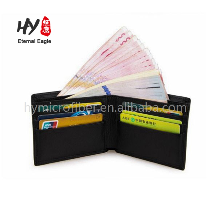 Customized personalized genuine leather wallet