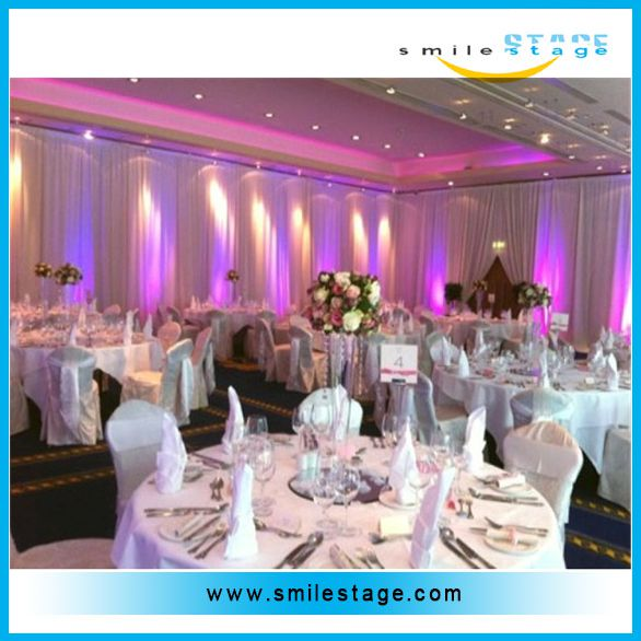 wedding ceiling drape for stage drapery/ curtains