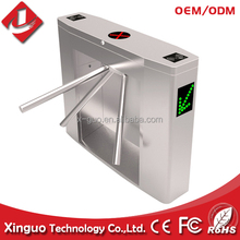 Stainless steel security system rfid turnstile pedestrian barriers