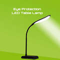 High quality popular desk lamp 24led black coffee white color