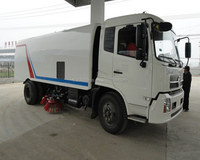 China suppliers DONGFENG 4x2 Sweeper Truck 8 tons mechanical road sweeper