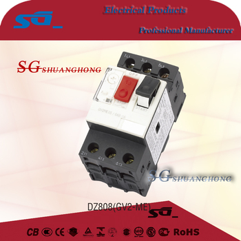 DZ808 GV Series Generator Circuit Breaker Motor Protection Circuit Breaker