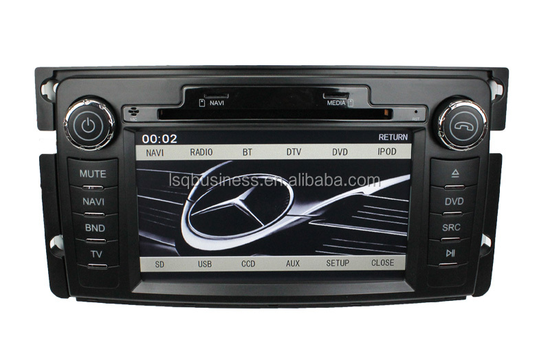 Android Car DVD Player For Mercedes Benz Smart Fortwo (2005-2011) 9313 GPS Navigation