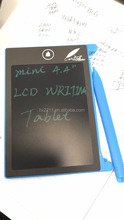 Howshow CE FCC RoHs certificed 4.4 inch paperless LCD mini magnetic writing tablet