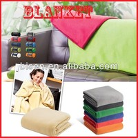 Hot Sell 2015 Promotional Polar Fleece Blankets with LOGO printing