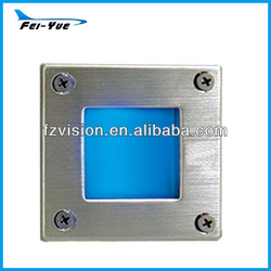 Stainless Steel Square LED Corrior And Walkways Step light