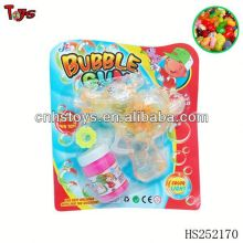 wholesales clear friction bubble gun with light candy bubble sword