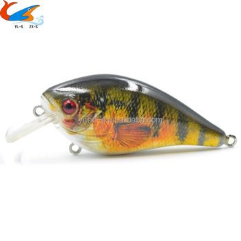 2017 Hot Sell Square Bill Crank Baits for Fishing Lures Tackle Wobber Crank Fishing Lures