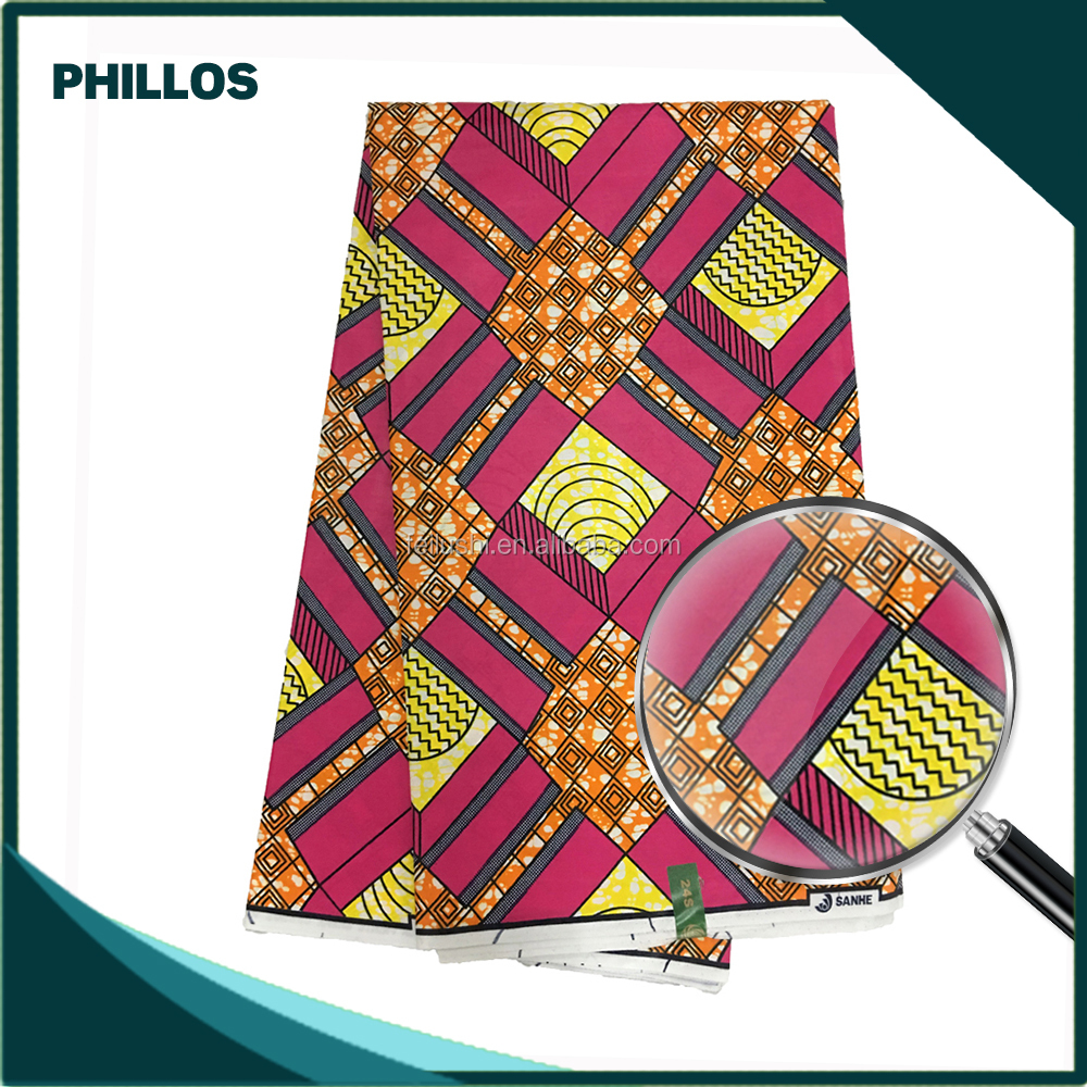 Item No.1631 Fashion african wax fabric wholesale/ Veritable real wax fabric/Veritable hitarget wax fabric