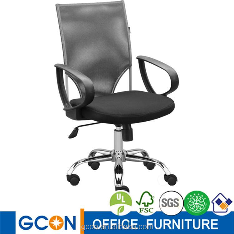 Promotion components high back four leg office 200kg chair