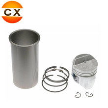 Car Spare Parts Cylinder Liner and Piston set Used For diesel engine