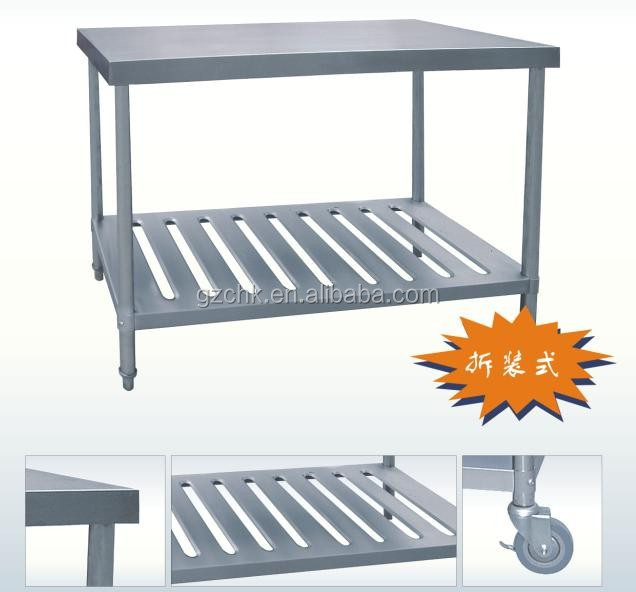 Kitchen equipment stainless steel worktable 1500mm/SS working table