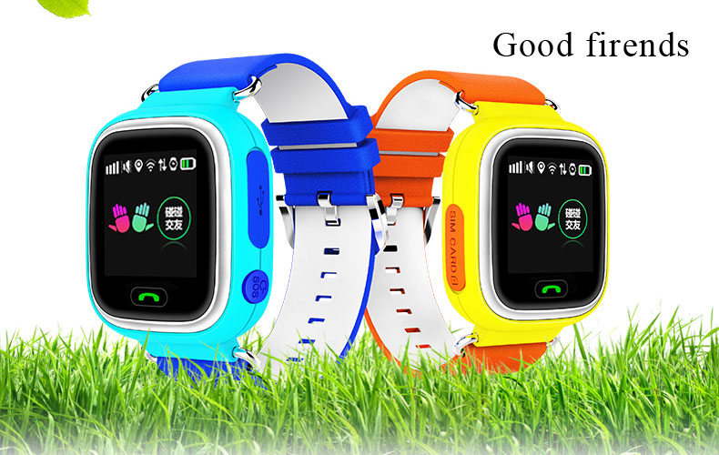 New product Q80 smart kids watches with GPS &<strong>WIFI</strong> &TOUCH SCREEN