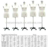 American standard size plus size dress forms