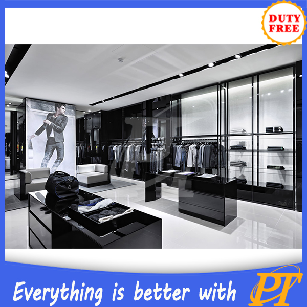 New clothing store decor clothes shop decoration