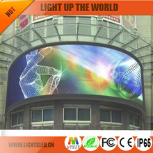hd RGB full colour led video curtain flexible soft P20 outdoor led display China manufacture