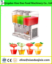 Three cylinders fruit juice slush drink machine