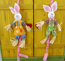 Easter decoration pendant stand rabbit rabbit harvest festival supplies eggs kindergarten preschool education is dressed up