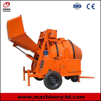 C31 JZR Series Automatic Self Loading Portable Diesel Concrete Mixer