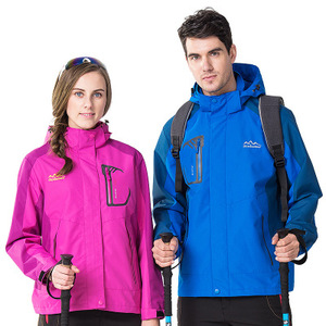 Lovers 2017 New Autumn Winter Outdoor Windproof Waterproof Single Layer Thin Sectio Jackets for Camping and Hiking GL-785