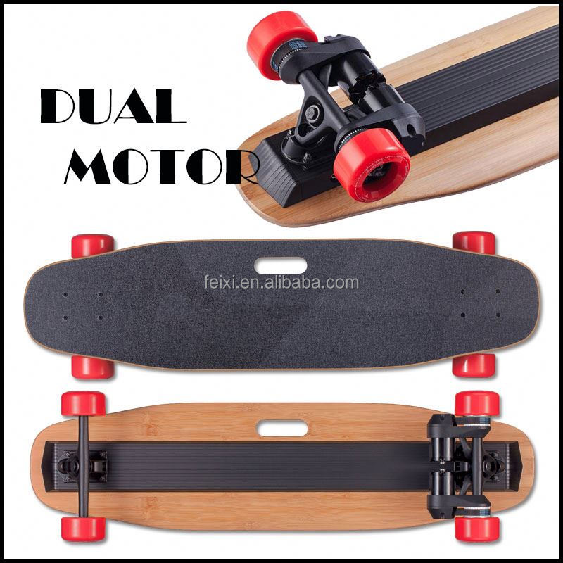 Offroad scooter dual motor skateboard CE approved