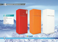Double Door refrigerator Colorful