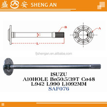 Is axle shaft 10 holes ,39T