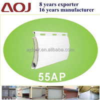 55AP Aluminum Roller Shutter Extruded double layer insulated Slats