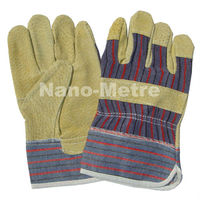 NMSAFETY Leather Industrial Security Gloves