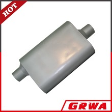 China low price universal aluminized stainless steel car exhaust muffler silencer auto resonator