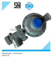 natural gas pressure regulator for pipe