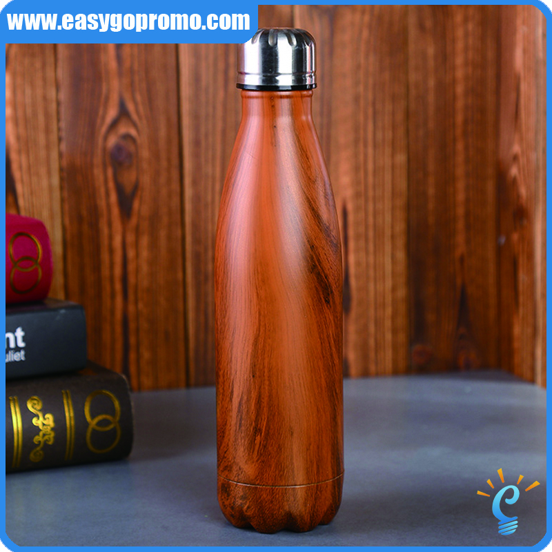 Promotional without moq limit healthy hydration swell water bottle with logo printed and engraved
