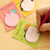 A058 Korean High quality office gift shape sticky memo pad