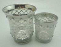 New Design and High Quality for Home and Wedding Decorative Cup Glass Candle Holder