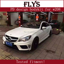 Factory direct sell! Priori design PD body kit for E-class 2016 year W208 W207 E coupe carbon hood,