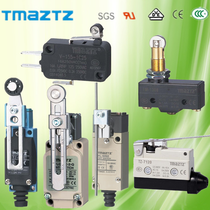 Factory supply CE&RoHS micro sliding door limit switches