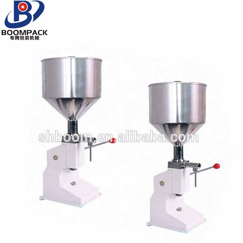 Easily operate manual tomato sauce used bottle filling machine