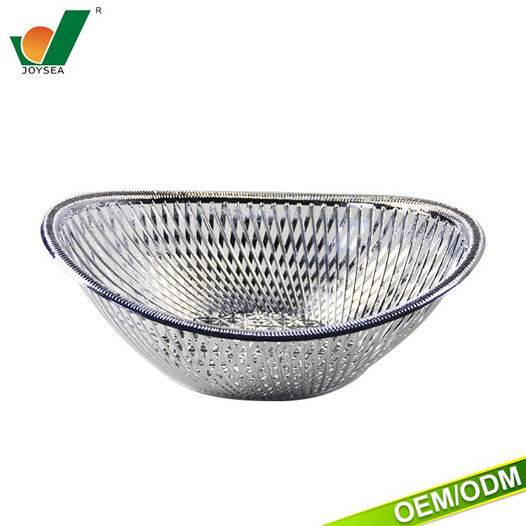 Hot selling Household items Daily necessities silver fruit tray