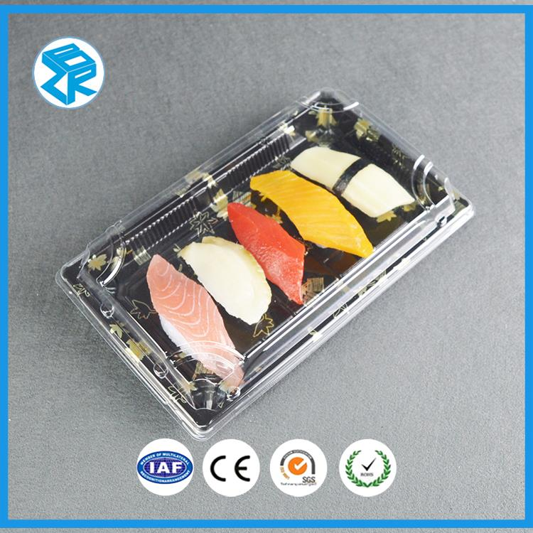 XJT09 foam food sushi blister packaging plastic meal disposable trays