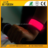 Top quality wholesale led light up wristband sport