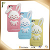 MP 021 Popwide ODM/OEM cheap cute rabbit multicolor cell phone case