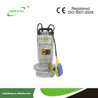 cable float level switch high head single phase submersible pumps/QDX series