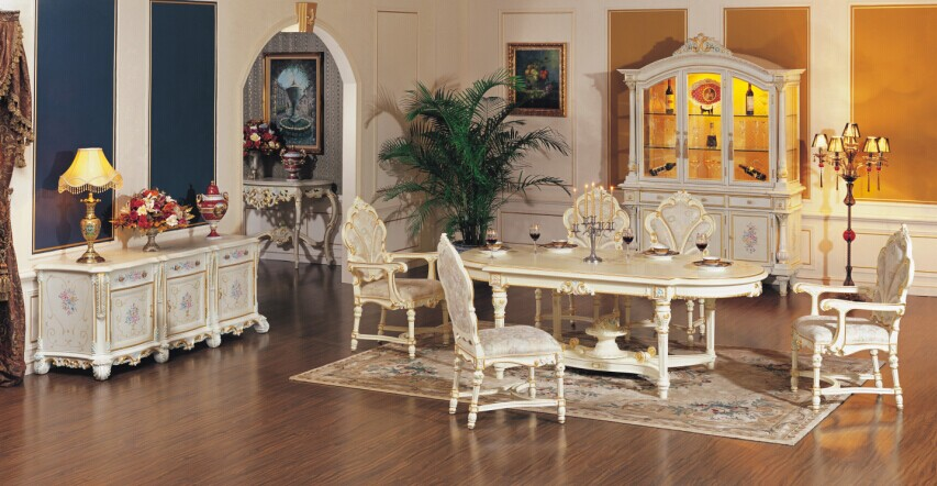 solid Wood Dinning Room Furniture-durable Solid Wooden Dinning Table Sets
