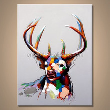 Canvas elk face painting supplies wholesale