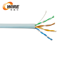 high quality CAT6 23AWG +best price,telecommunication cable+CU or CCA material,UTP Cat6 network cable